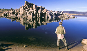 Fishing, Lake Jindabyne