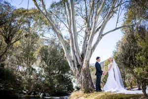 weddings in snowy mountains